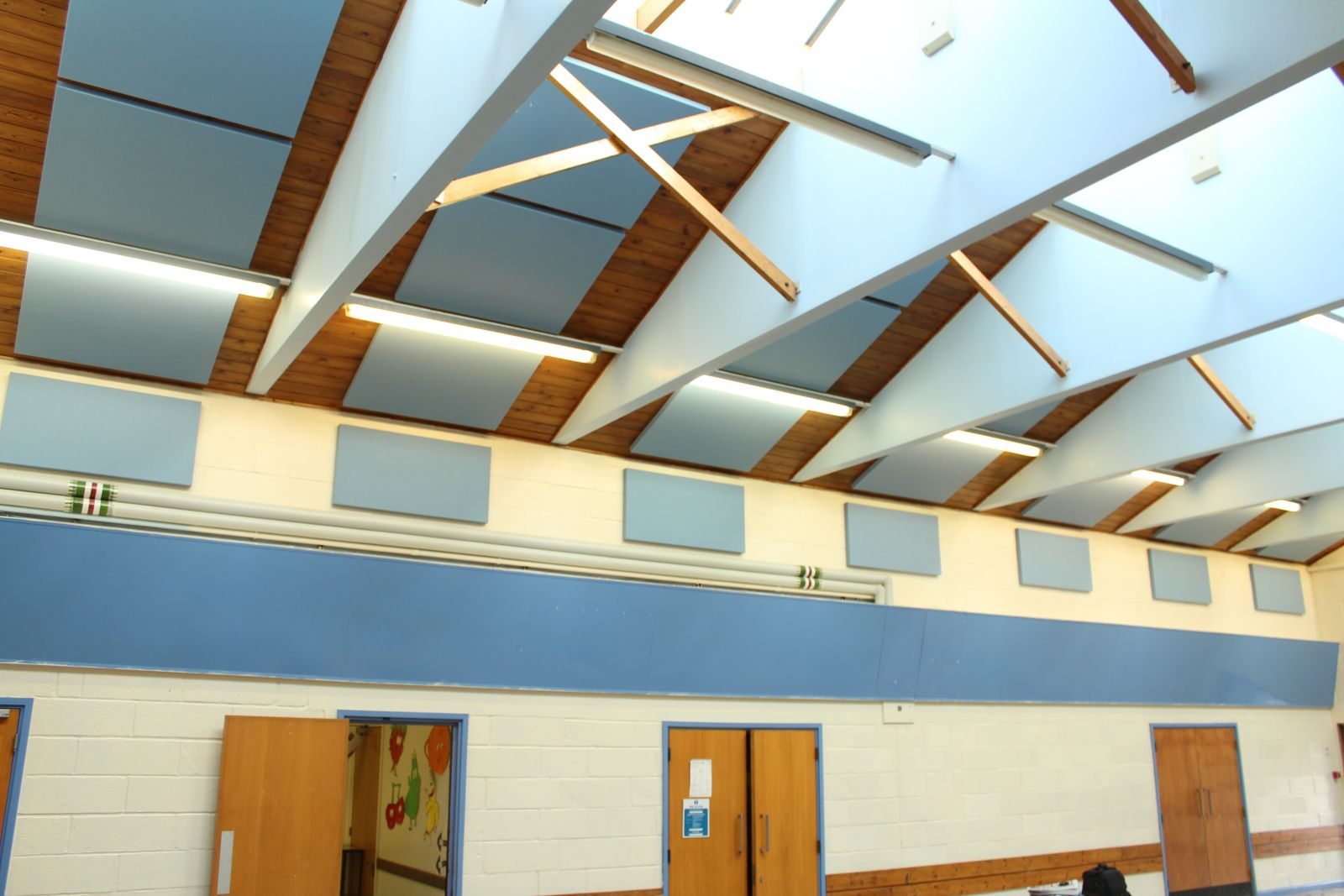 Sonata Aurio acoustic Panels installed onto walls and ceiling