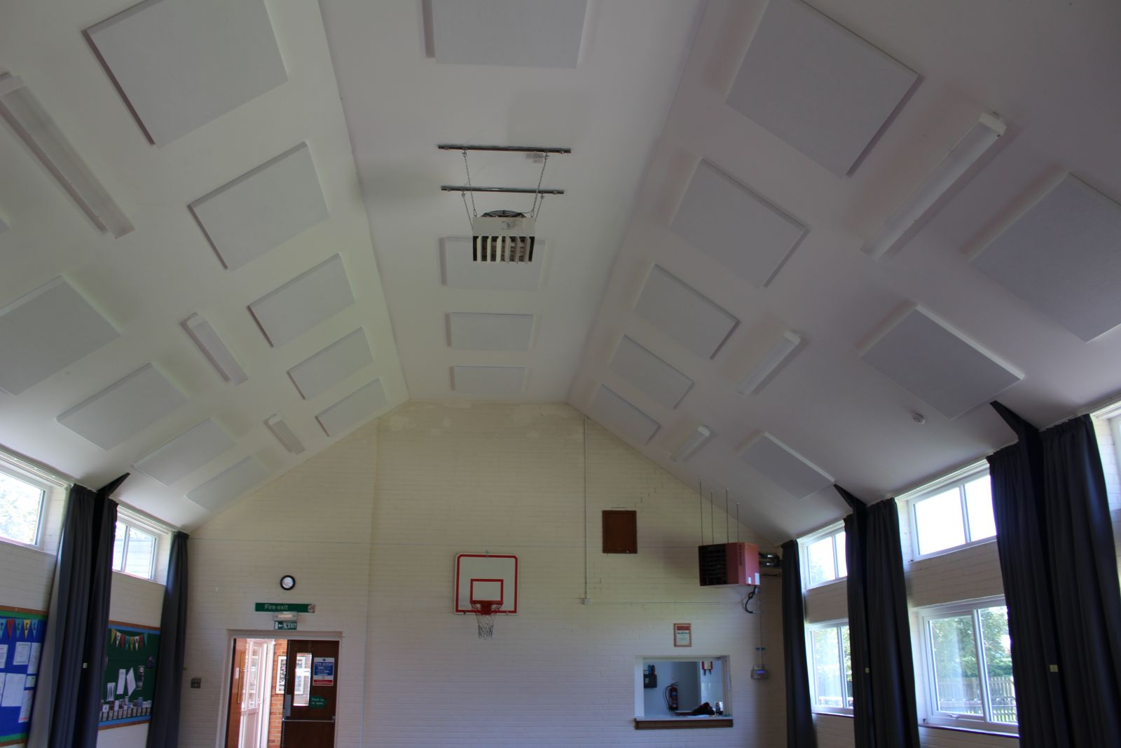 Noise Reduction at Shipton Community Centre