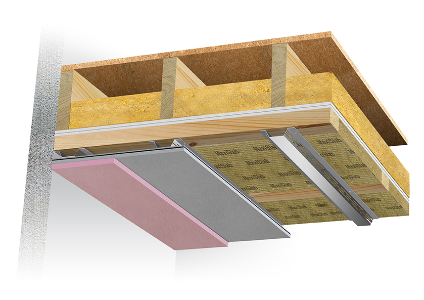 At just 6cms proud of the ceiling, it's the perfect space-saving  soundproofing system. - Ceiling Soundproofing