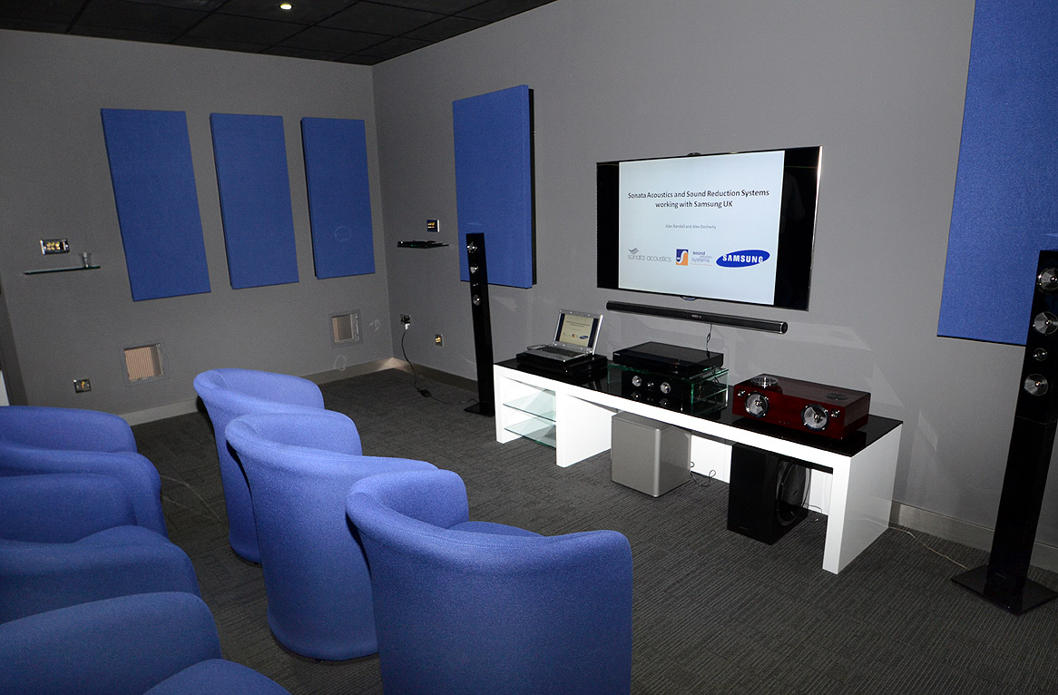 SRS Products Installed At Samsungs New Sound Room Facility - Sound room design
