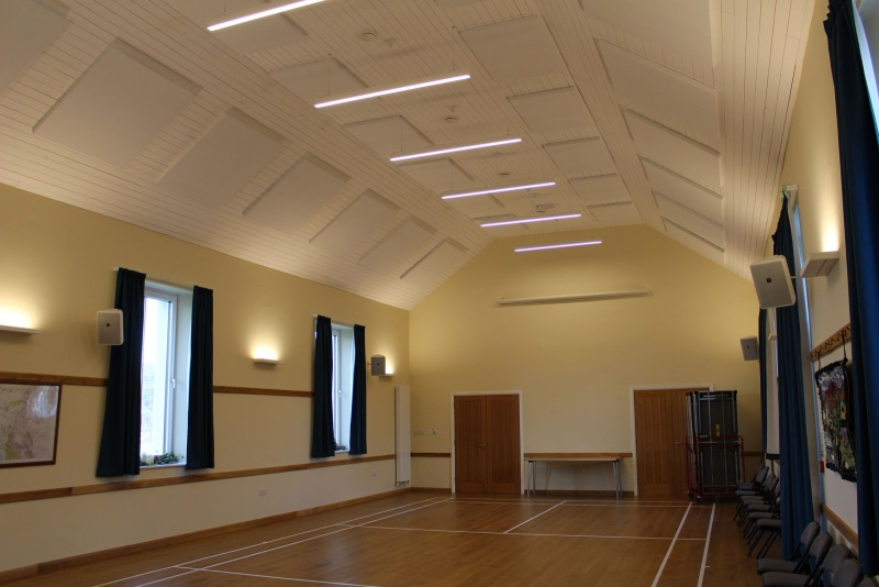 SRS help improve Village Hall Acoustics
